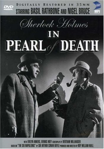 Sherlock Holmes in Pearl of Death Cover