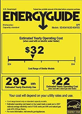 SPT Energy Star Portable Dishwasher, 18-Inch