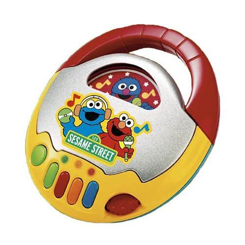 Sesame Street Talking Cd Player Ernie and Cookie Monster by Fisher-Price (Cookie Monster Fisher Price compare prices)