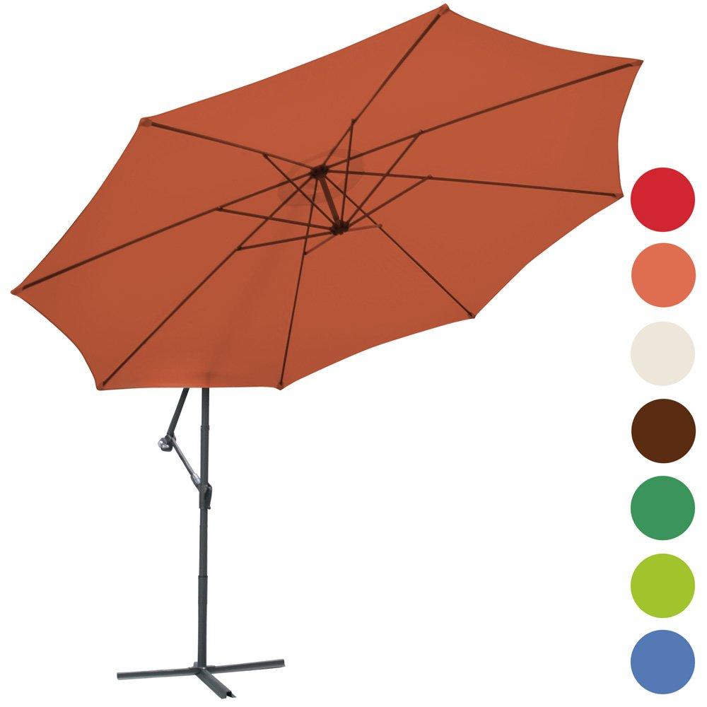 Ampelschirm Sonnenschirm Sonnenschutz Ø 350cm Farbwahl günstig kaufen