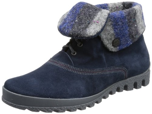 Think Womens Koehsa Desert Boots Blue Blau (water/kombi 86) Size: 4 (37 EU)