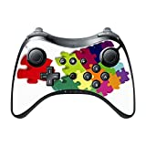Colorful Jigsaw Puzzle Pieces Design Print Image Wii U Pro Controller Vinyl Decal Sticker Skin By Trendy Accessories