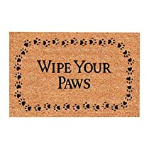 USCOA Intl 31801 DeCoir Brush Entrance Mat - Wipe Your Paws
