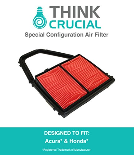 Special Configuration Air Filter Fits Acura EL Canada & Honda Civic, Compare to Part # A35397 & CA8911, Designed & Engineered by Think Crucial