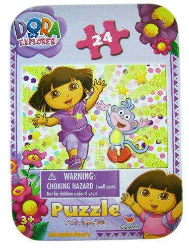 Cheap Cardinal Dora The Explorer Travel Puzzle Set – Nickelodeons Dora The Explorer Mini Puzzle Set (24pcs) (B003KRD9X0)