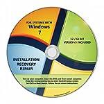WINDOWS 7 INSTALL DVD 32 64 Bit SP1 R...