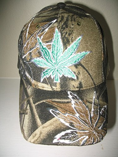 Camoflauge-Camo-Embroidered-Weed-Marijuana-Joint-Blunt-Shadow-Hat-Cap
