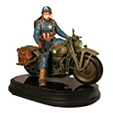 Captain America on Motorcycle Marvel Gentle Giant Statue