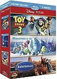 echange, troc Pixar : Toy Story 3 + Monstres & Cie + Ratatouille - coffret 5 Blu-ray [Blu-ray]