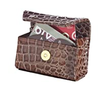 Chocolate Croc Card Cubby Organizer