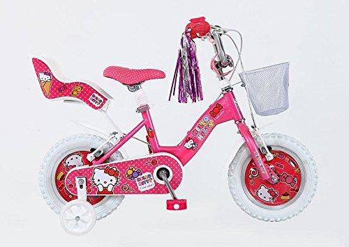 "12 Zoll 12"" Hello Kitty Kinder Mädchen Rad Kinderfahrrad Fahrrad Mädchenfahrrad 1216"
