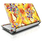 Wall Flower Design Protective Skin Decal Sticker for Acer (Aspire ONE) 10.1 inch (D250) Netbook Laptop ONLY
