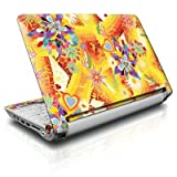 Wall Flower Design Protective Decal Skin Sticker for Asus (ASPIRE ONE) D255 10.1 inch Netbook Laptop