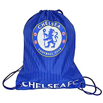 Chelsea Gym Sack Blue/Red Drawstring Sports Rugby Ruck