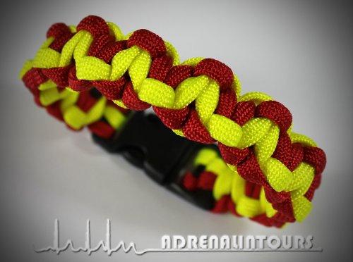 bracelet-paracord-550-emergency-services-fire-engine-ambulance-emergency-emt-asb-red-neon-yellow-siz
