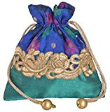 #10: Women's Potlis (Blue)