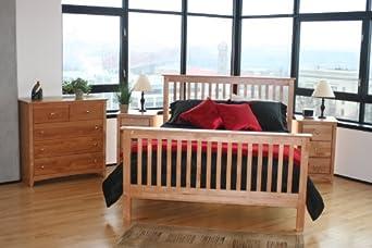 Maco Lifestyles S4-CL Four-Piece Shaker Bedroom Set
