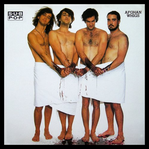 Original album cover of Retarded / Turning In Two / Sister Brother / Hey Cuz by The Afghan Whigs