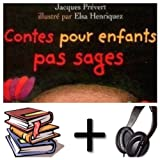 Contes pour enfants pas sages Audiobook PACK [Book + CD] (French Edition)