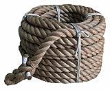 まつうら工業 綱引きロープ(麻) 太さ30ミリΦX約30m