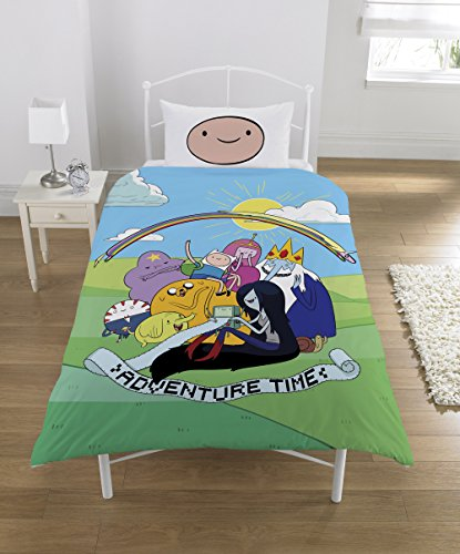 Adventure Time Set Copripiumino Singolo