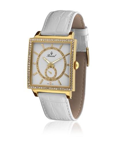 Bassel Reloj con movimiento cuarzo suizo CR3030AM Blanco 42  mm