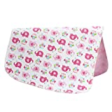 [19*27 Inch] Lovely Waterproof Breathable Baby Urine Pad-Pink Elephants