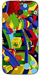 Timpax protective Armor Hard Bumper Back Case Cover. Multicolor printed on 3 Dimensional case with latest & finest graphic design art. Compatible with Motorola Moto -G-2 (2nd Gen )Design No : TDZ-27817