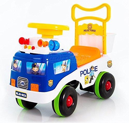 Rutschauto POLIZEI Rutschfahrzeug Lauflernwagen Lauflernhilfe Kinderfahrzeug NEU