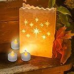 Frux 24 Flameless Tea Lights - Yellow...