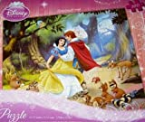 Disney Princess Snow White Prince Dancing with Forest Animals 100 Piece Jigsaw Puzzle