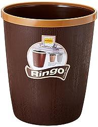 Ringo Plastic Dustbin, 7 Litres, Tan