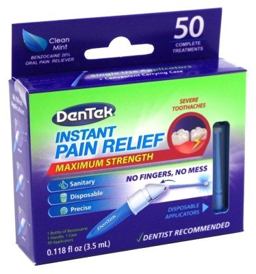 DenTek Adult Instant Pain Relief Kit, 50 Count