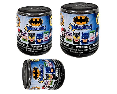 DC Batman Licensed Mashems Blind packs - 3 pack by T4K (Spiderman Easter Basket compare prices)