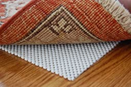 Firm Hold Non Slip Rug Pad 8\' X 10\' for Hard Floor Surfaces