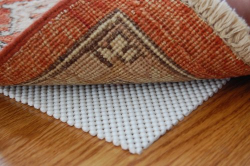 Firm Hold Non Slip Rug Pad 3' X 5' For Hard Floor Surfaces front-268341