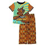 Scooby Doo Boys Brown Poly Pajamas