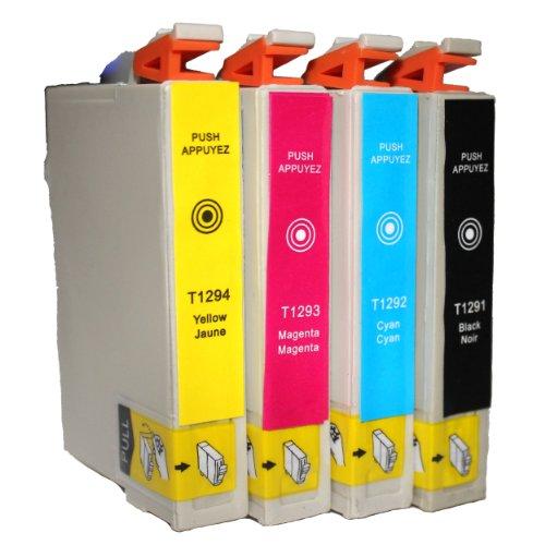 T1295-T1291 T1292 T1293 T1294 ---Drucker patronen (Ein Satz)