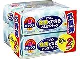 ピジョン 除菌もできるおしぼりナップ 60枚入 詰替用×2