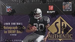 1 (One) Box - 2008 SP Authentic Football Hobby Box (24 Packs per Box) - Possible Matt... by Upper Deck SP Authentic
