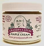Grandpas Stuff Original Maple Cream Spread, Small 3 oz Jar