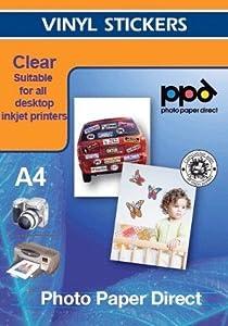 Papel fotográfico auto-adhesivo X 20 Hojas A4 por Papel fotográfico directo  Electrónica Comentarios de clientes y más información