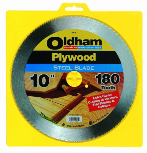 Oldham 100P 10in 180t Plywood Blade