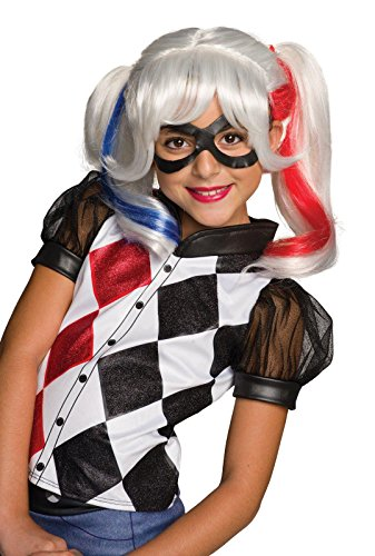 DC Superhero Girls: Harley Quinn Child Wig