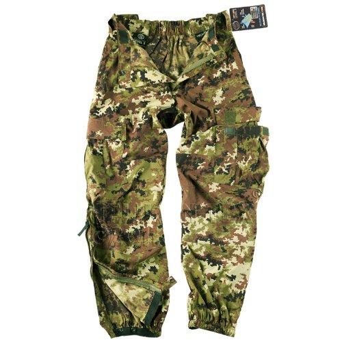 Helikon Army Pants Soft Shell Combats Mens Cargo Trousers Vegetato Woodland Camo