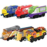 Chuggington StackTrack Toy Train Set 6pk Brewster, Wilson, Koko, Tyne, Frostini, Skylar