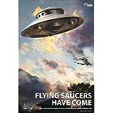 1/48 Flying Saucers Model Kit NS-01 Adamski Type [UFO Diameter 200mm (7.87inch) : Height 90mm (3.54inch)]