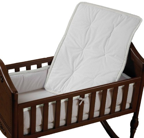 Baby Doll Bedding Cradle Bedding Set, White (Discontinued by Manufacturer)