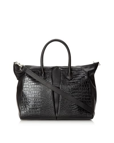 W118 by Walter Baker Women's Healy Tote, Black/Black As You See