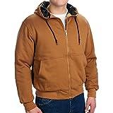 Walls Fleece Quilted Jacket, BROWN, XL